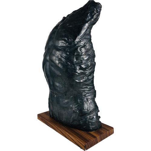 Joël A. Prévost | Sculpture Black Male Torso Nude 5
