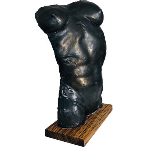 Joël A. Prévost   Sculpture Black Woman Nude Torso 2