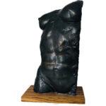 Joël A. Prévost   Sculpture Black Woman Nude Torso 3