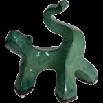 Joël A. Prévost   Sculpture Green Dog Modern Design