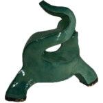 Joël A. Prévost   Sculpture Green Dog Modern Design 4