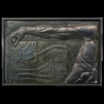 Joël A. Prévost | Arm with Grey Background Mural Sculpture
