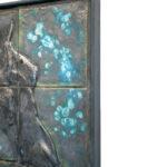 Joël A. Prévost | Blue Murals Sculpture 2