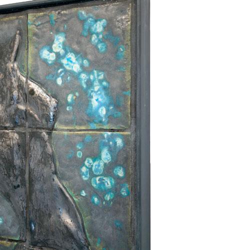 Joël A. Prévost   Blue Murals Sculpture 2