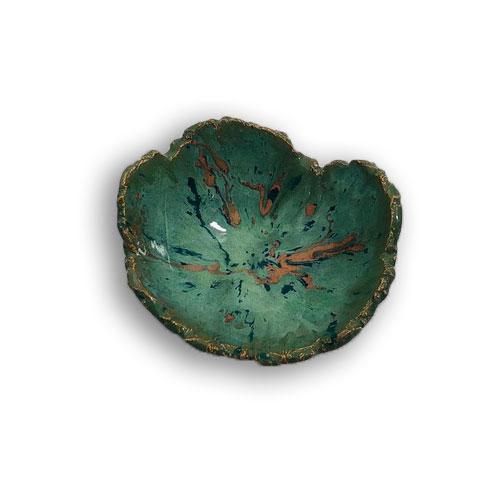 Joël A. Prévost   Canadian Sculptor   Ceramic Platters Deep Forest Black 4