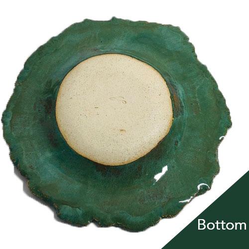 Joël A. Prévost   Canadian Sculptor   Ceramic Platters Deep Forest Black Bottom