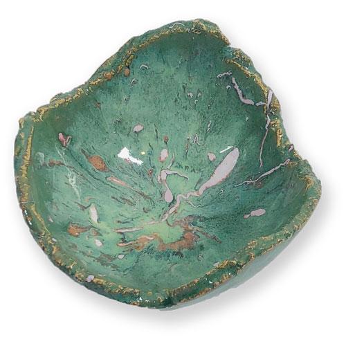 Joël A. Prévost   Canadian Sculptor   Ceramic Platters Deep Forest White 4