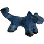 Joel A. Prevost | Sculpture of Blue Dog 2