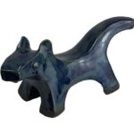 Joel A. Prevost | Sculpture of Small Blue Dog 6