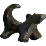 Joel A. Prevost | Sculpture of Small Dog Bronze