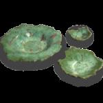 Joel A. Prevost | Canadian Sculptor | Ceramic Bowls Deep Forest Pink 1