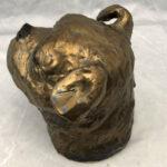 Joel A Prevost Golden Terrier Clay Statue